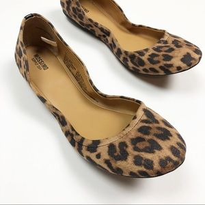 Mossimo | Leopard Print Ballet Flats Size 10